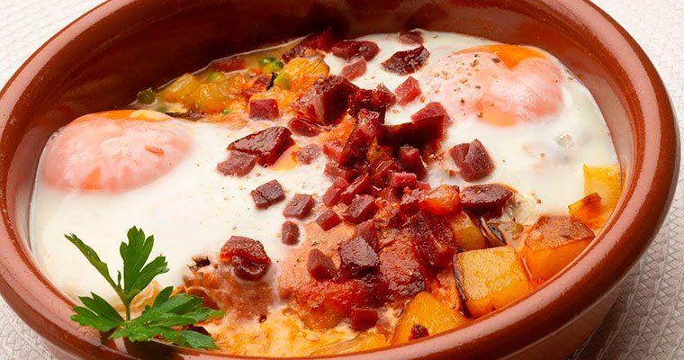 Huevos al plato de Karlos Arguiñano